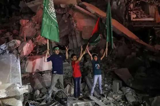 Lebanon's Hezbollah hails 'historic victory' for Palestinians