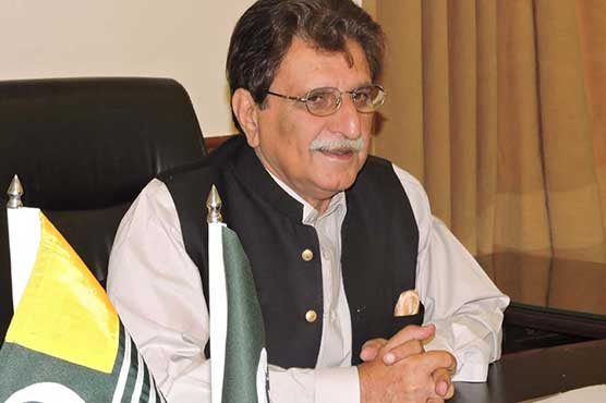 AJK PM leads rally to express solidarity with Palestinians and Kashmir