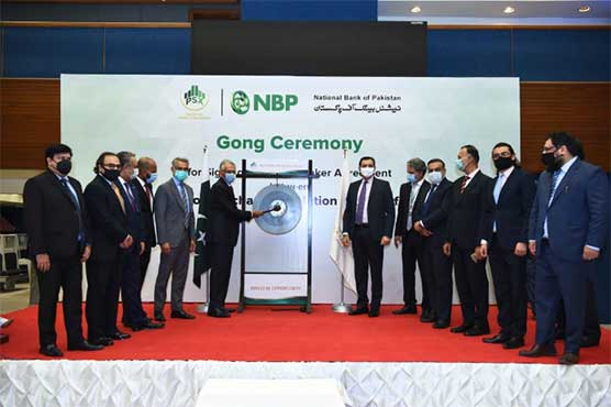 PSX holds gong ceremony to onboard NBP as Market Maker