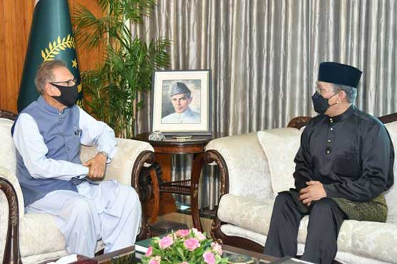 President for enhanced Pakistan-Malaysia cooperation in diverse fields