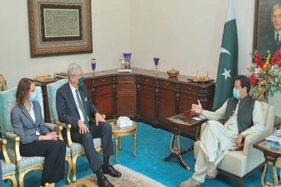 PM Imran, President UNGA discuss regional, international peace, security