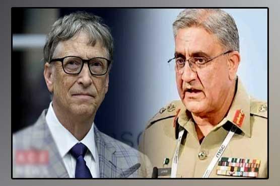 COAS Bajwa, Bill Gates discuss polio situation, COVID-19 in Pakistan