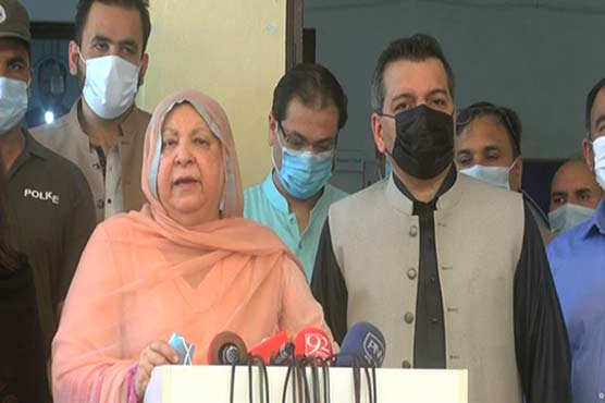 3.5 million people have been vaccinated against coronavirus in Punjab so far: Dr Yasmin Rashid