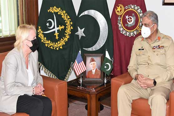 US Charge d' Affairs, calls on COAS General Bajwa