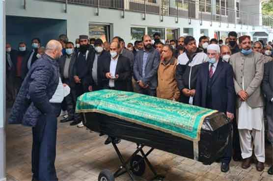 Umer Sharif's funeral prayer offered in Germany