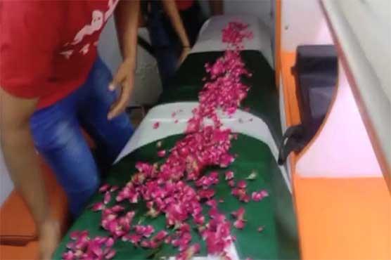 Dead body of Umer Sharif reaches Karachi