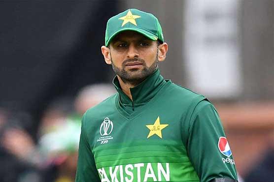 Shoaib Malik replaces injured Sohaib Maqsood in T20 World Cup squad