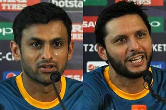 Afridi appreciates inclusion of Shoaib Malik in T20 World Cup squad
