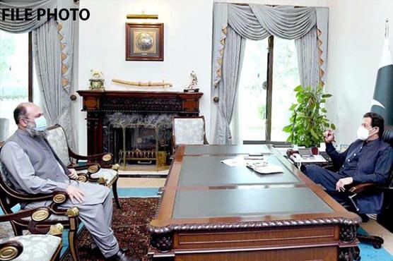 CM Balochistan calls on PM Imran amid political crisis in province