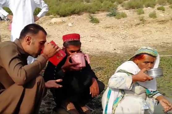 خوشاب کا ایسا گاؤں جہاں مکین آج بھی بارشوں کا پانی پینے پر مجبور