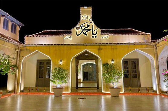 PM shares image of his illuminated Bani Gala residence ahead of Eid Miladun Nabi (SAW)
