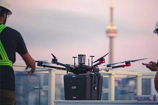 ڈرون کی پھیپھڑوں کا عطیہ لیکر کامیاب پرواز اور لینڈنگ