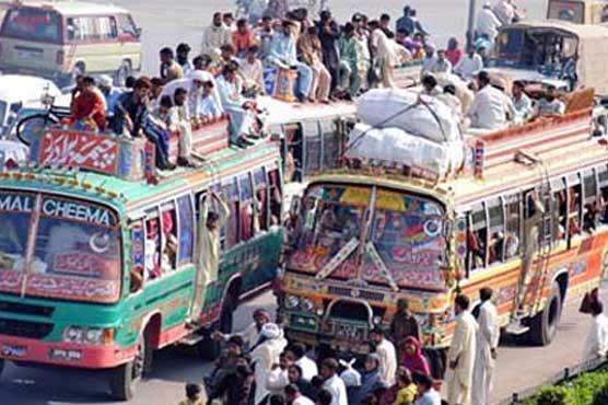 As fuel prices go up, so do transport fares