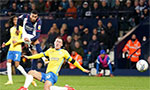 West Brom top of Championship after gritty derby win