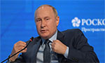 IS fighters massing in Afghanistan, says Putin ahead of talks