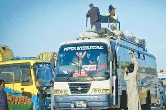 کراچی: پٹرولیم قیمتوں میں اضافے کے اثرات، انٹر سٹی ٹرانسپورٹ کے کرایوں میں اضافہ کر دیا گیا