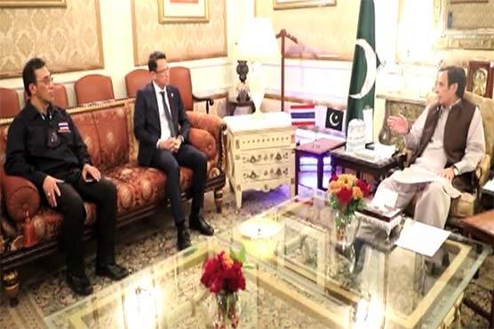 پاکستان اور تھائی لینڈ کے درمیان دیرینہ مضبوط سیاسی اور معاشی تعلقات ہیں: پرویز الہی