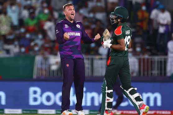 ٹی20ورلڈ کپ:دوسرا میچ،سکاٹ لینڈ نے بنگلہ دیش کو 6رنز سے زیر کرلیا