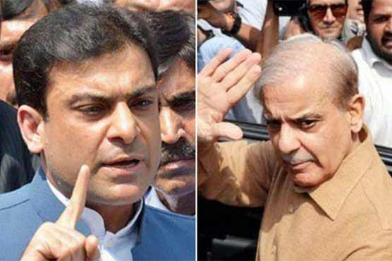 Shehbaz Sharif, Hamza Shahbaz appear before NAB court