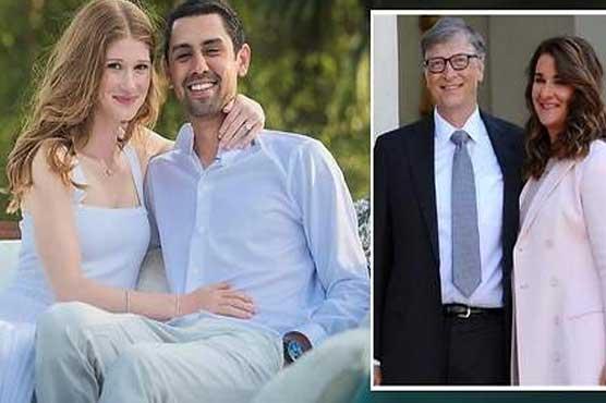 بل گیٹس کی بیٹی نے مسلم نوجوان سے شادی رچالی