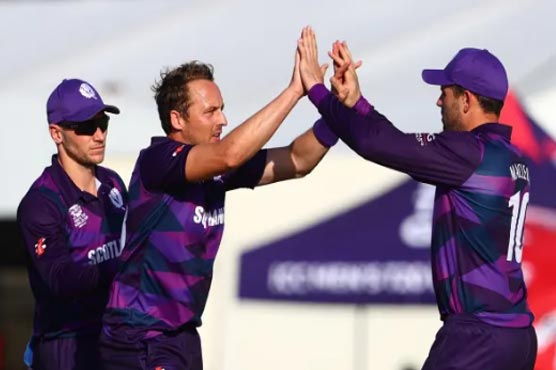 Berrington's 70 helps Scotland beat PNG at T20 World Cup