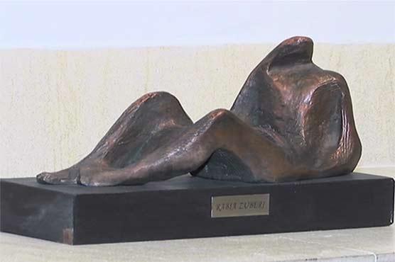 نیشنل کونسل آف آرٹس میں مجسمہ سازوں کے فن پاروں کی نمائش