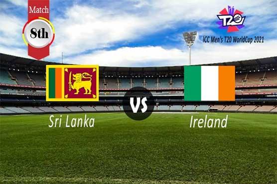T20 World Cup: Ireland win toss, opt to bat field against Sri Lanka