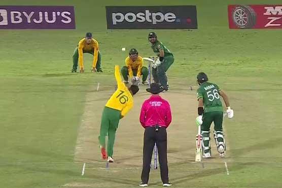 ٹی 20ورلڈ کپ:وارم اپ میچ ،پاکستان کا جنوبی افریقہ کو جیت کیلئے 187رنز کا ہدف