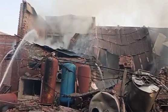 لاہور: جوس بنانے والی فیکٹری کا بوائلر پھٹ گیا، ایک شخص جاں بحق، ایک زخمی