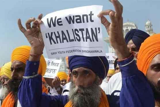 سکھ کمیونٹی کا خالصتان کیلئے 31 اکتوبر کو ریفرنڈم کا اعلان