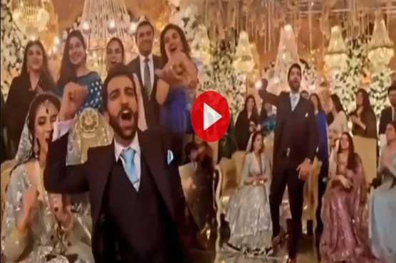 بھارت کیخلاف پاکستان کی فتح، ولیمے کی تقریب میں دلہا دلہن کے نعرے