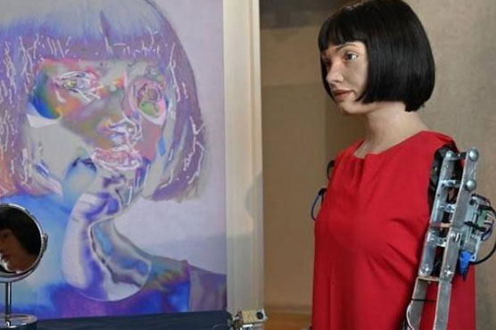 Ai Da, the British robot artist arrested in Cairo as a spy