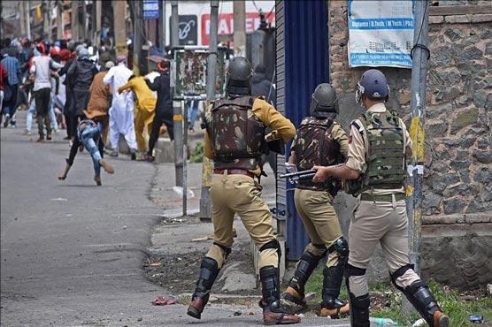 Indian troops martyred 18 Kashmiris during last month in IIOJ&K