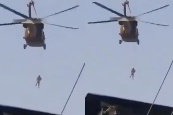 Republicans spread false claim about Taliban executing a man from helicopter