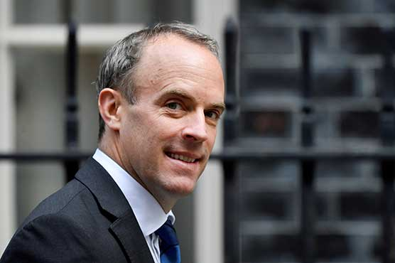 UK's Raab heads to Afghanistan's neighbours to discuss evacuations