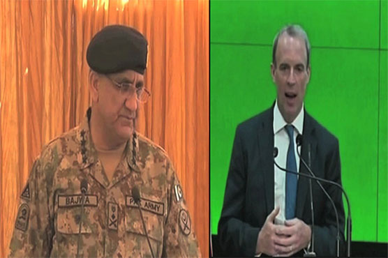 British Foreign Secretary calls on COAS Gen Bajwa