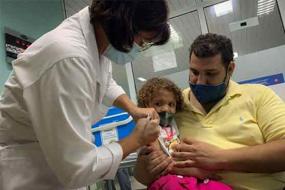 Cuba starts vaccinating children in order to re-open schools amid Covid surge