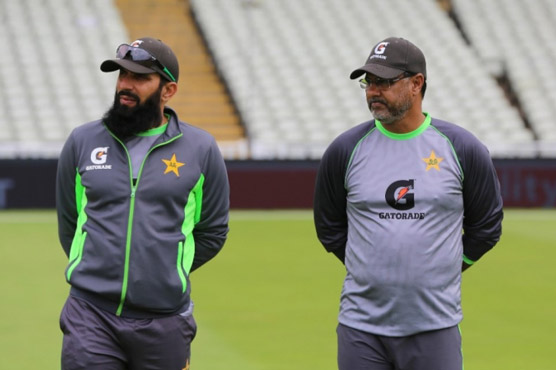 Misbah, Waqar step down from coaching roles