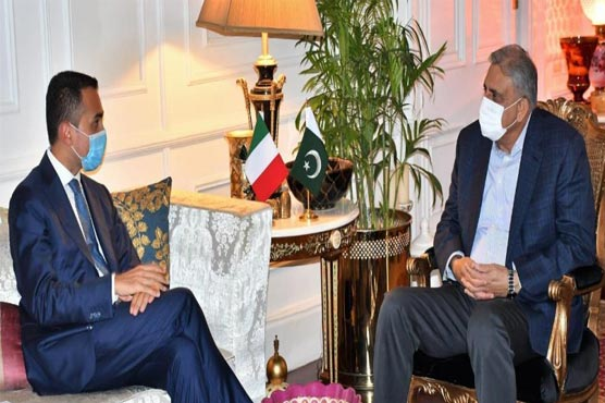 COAS, Italian FM discuss humanitarian assistance for Afghanistan