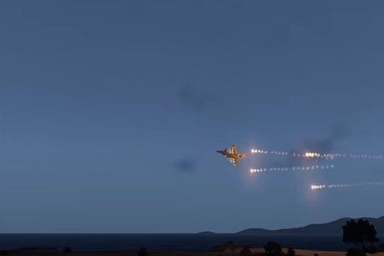 Indian media shows video game scenes as Pakistani planes in Panjshir
