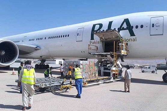 PIA uplifts 5.9 million Covid-19 vaccine doses from China to Pakistan