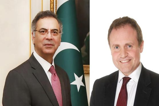 Pakistan HC discusses Afghanistan situation with UK MP Tom Tugendhat