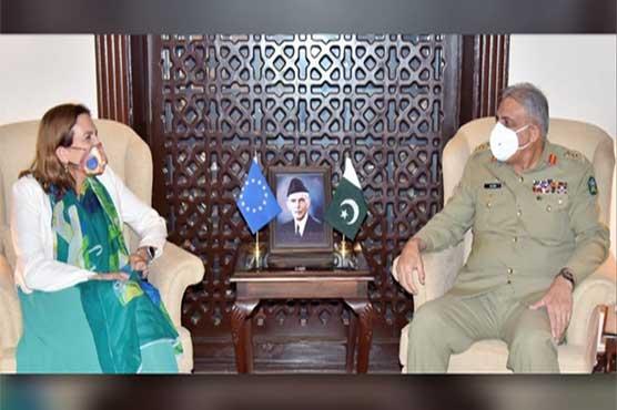 COAS, EU Ambassador discuss regional security, Afghanistan situation