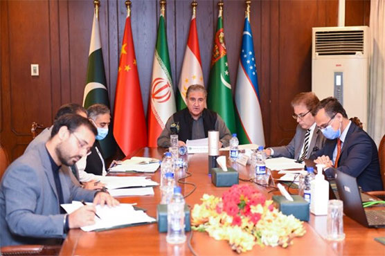 Neighboring countries discuss Afghanistan situation for regional approach in virtual meeting