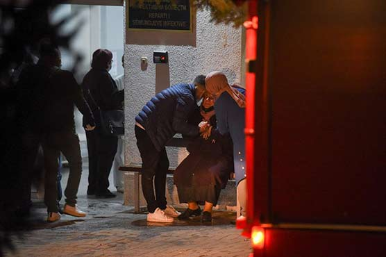 14 dead in fire at Covid hospital in North Macedonia
