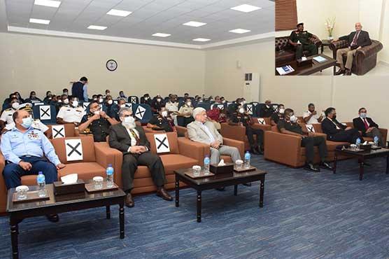 Sir Lankan Defense College delegation visits CASS