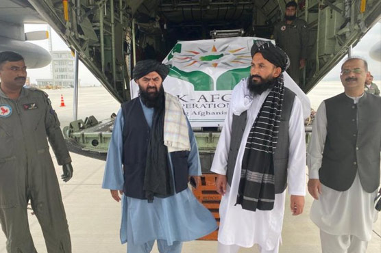 Relief goods consignment from Pakistan reaches Khost