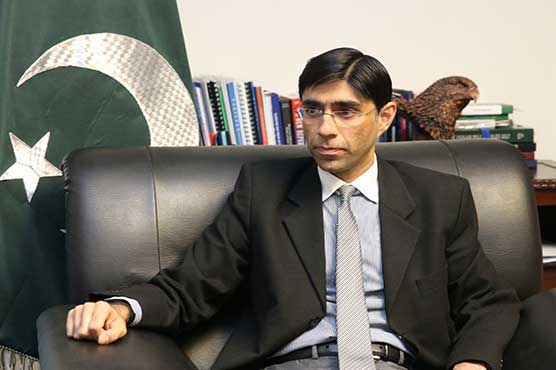 Abandoning Afghanistan again by int'l community will be a mistake: Dr Moeed