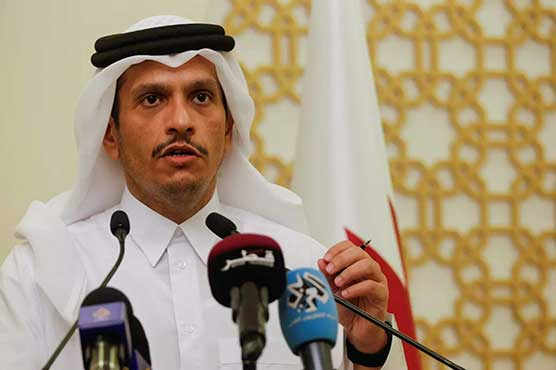 Qatar foreign minister says he urged Taliban to respect women's rights