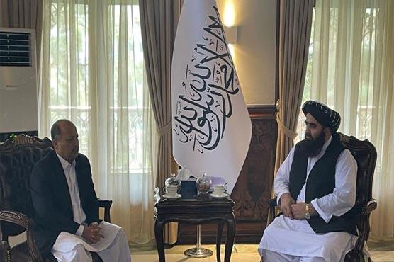 Mansoor Ahmad, Amir Muttaqi discuss bilateral ties in diverse fields